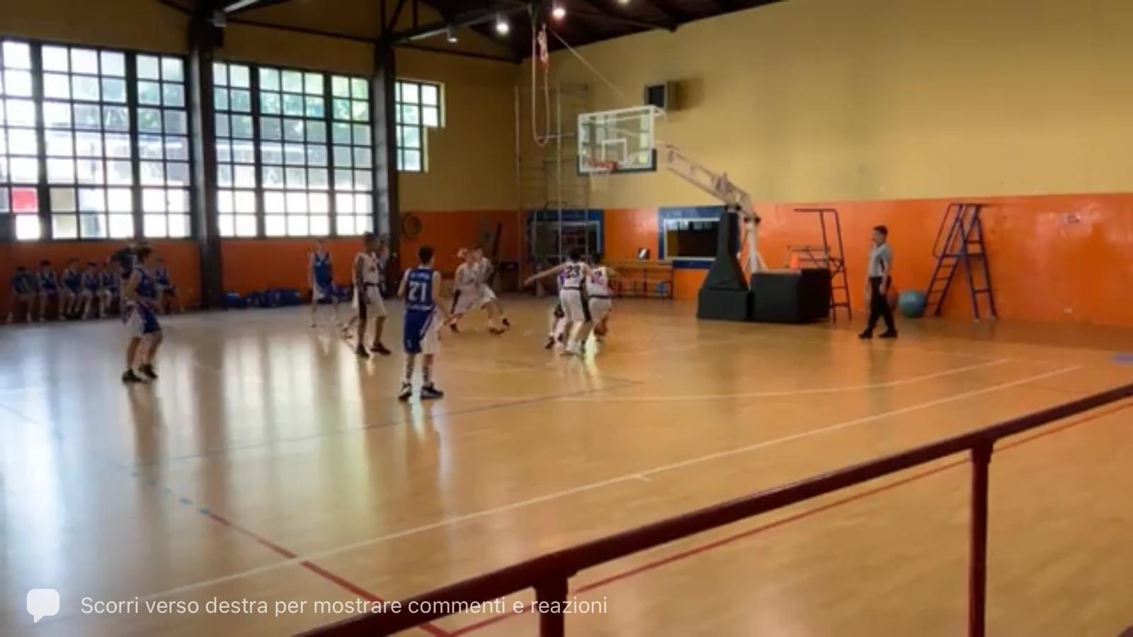 U14 Smit Roma - Olimpia Roma  63 - 40 1