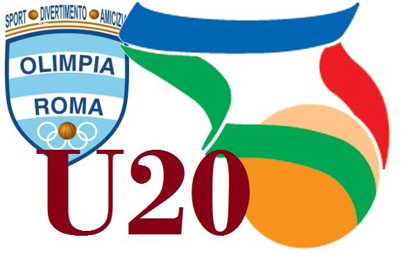 U20 G  Olimpia Roma - Club Basket Frascati  86 - 90 1