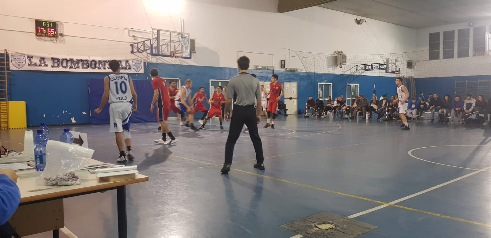 Serie D Olimpia Roma - Bk Valsugana 92 - 80 1
