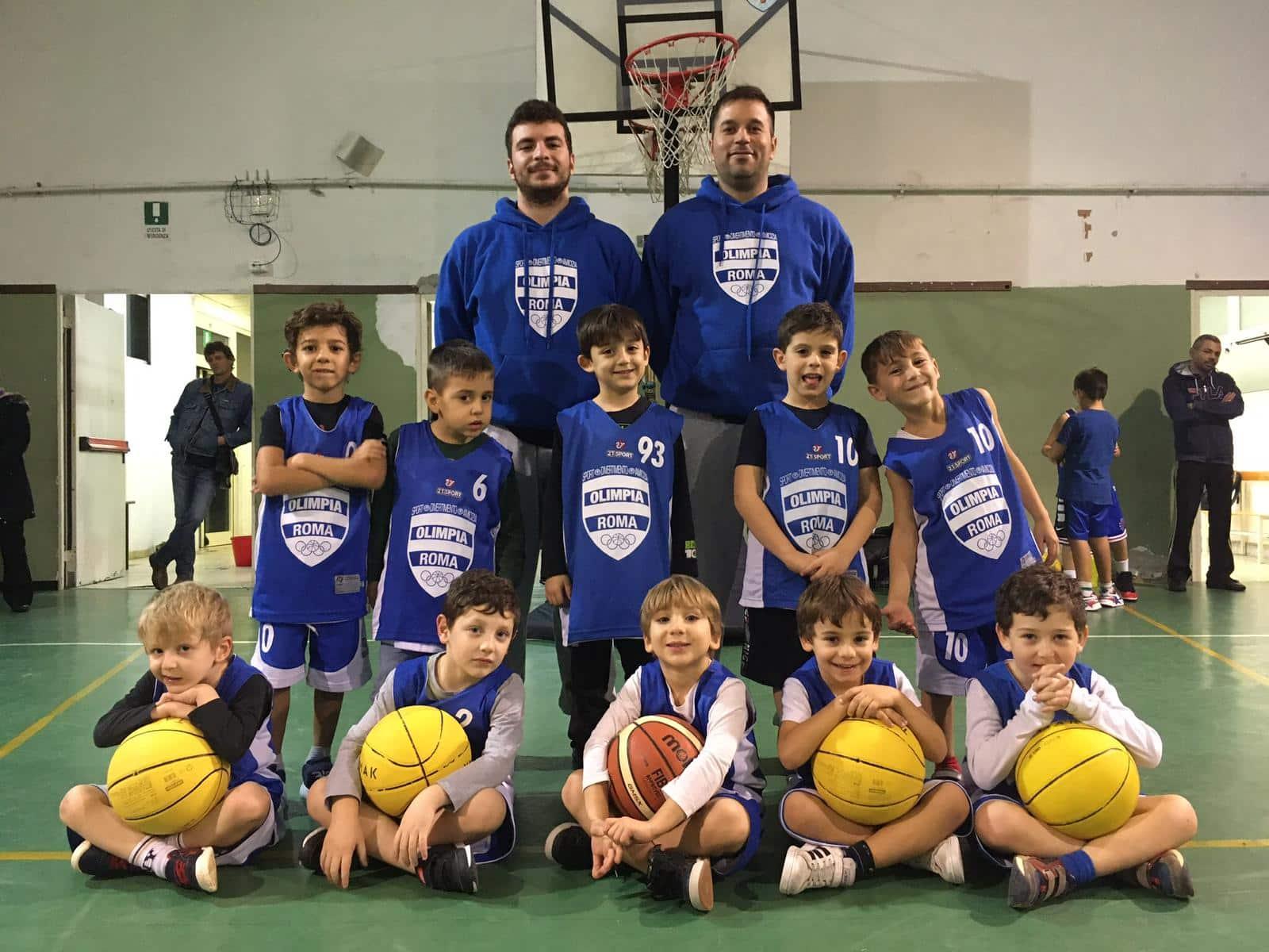 Minibasket Pulcini Scuola Manzi Roma