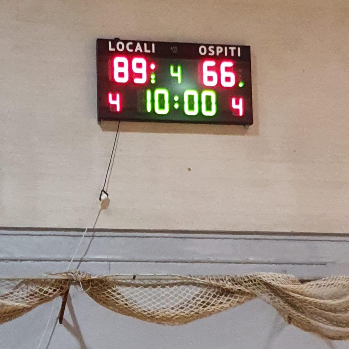 Serie D Castelli Romani - Olimpia Roma 89-66 1