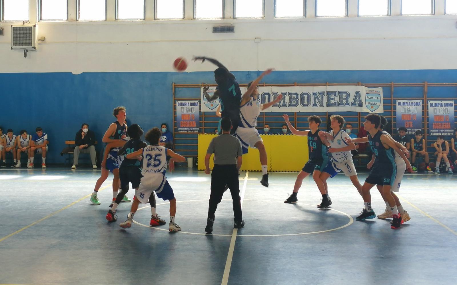 U15 E Olimpia Roma - Bk Club Frascati  102 - 77 1