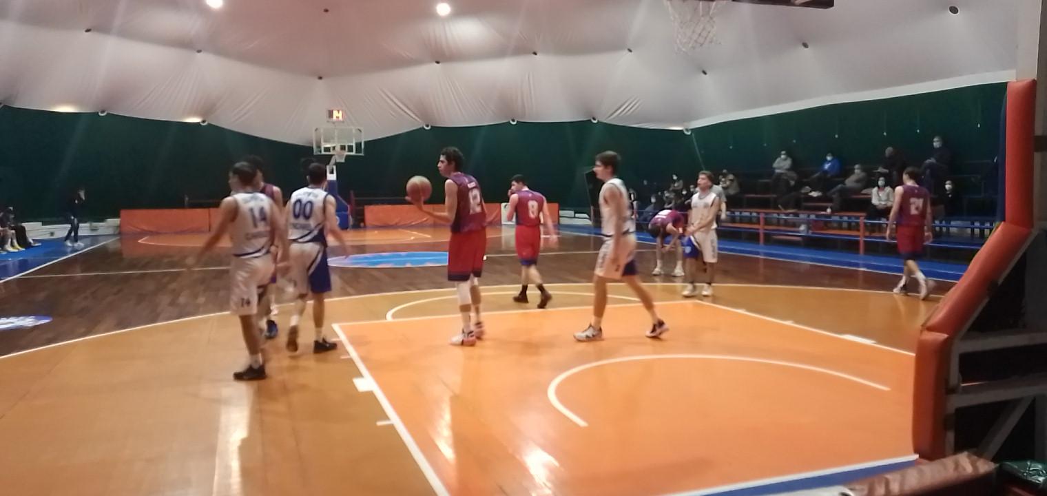 U18 E  Olimpia Roma - Club Bk Frascati  94 - 60 1