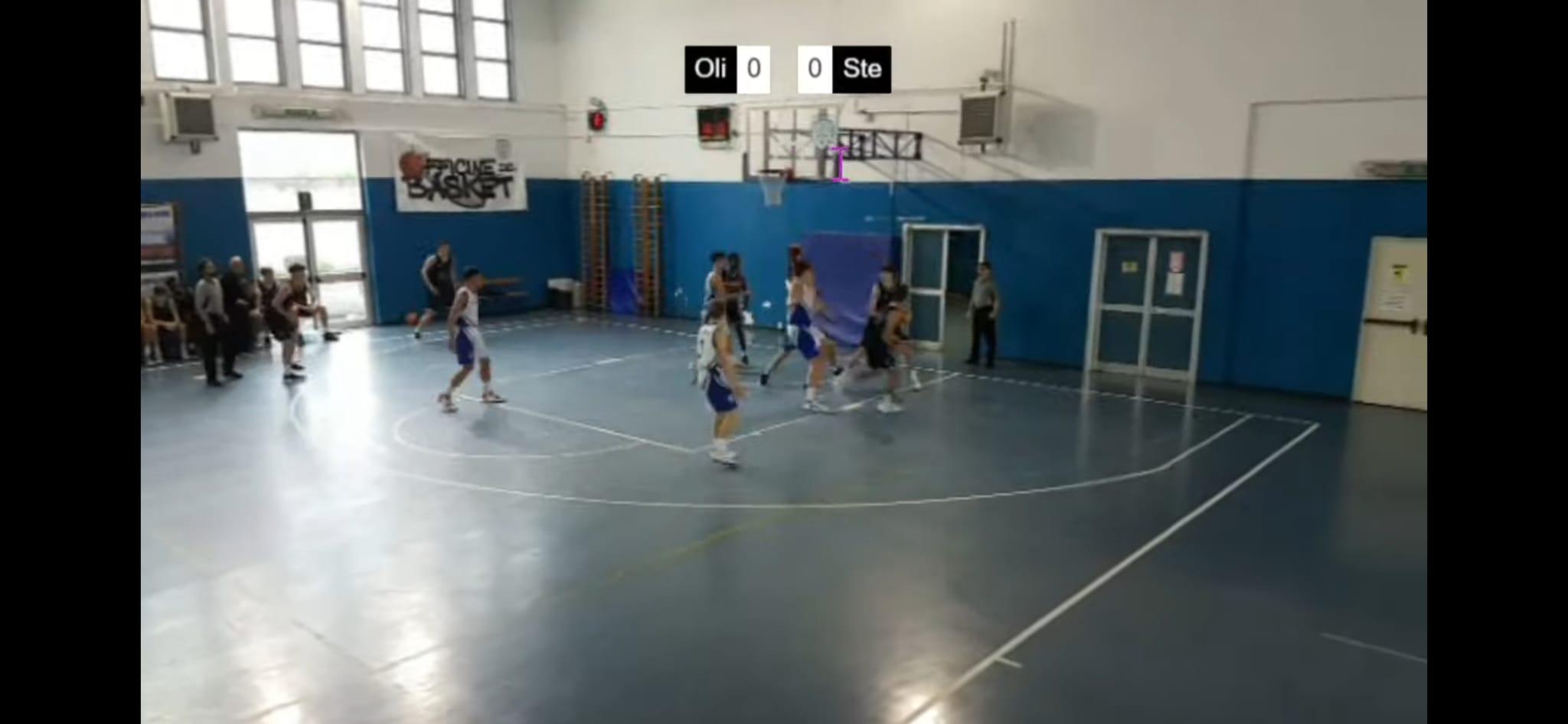 U16 E  Olimpia Roma - Stella Azzurra  65 - 74 1