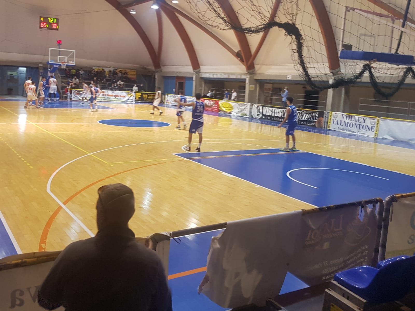 U18 E  Virtus Valmontone - Olimpia Roma  83 - 84 1