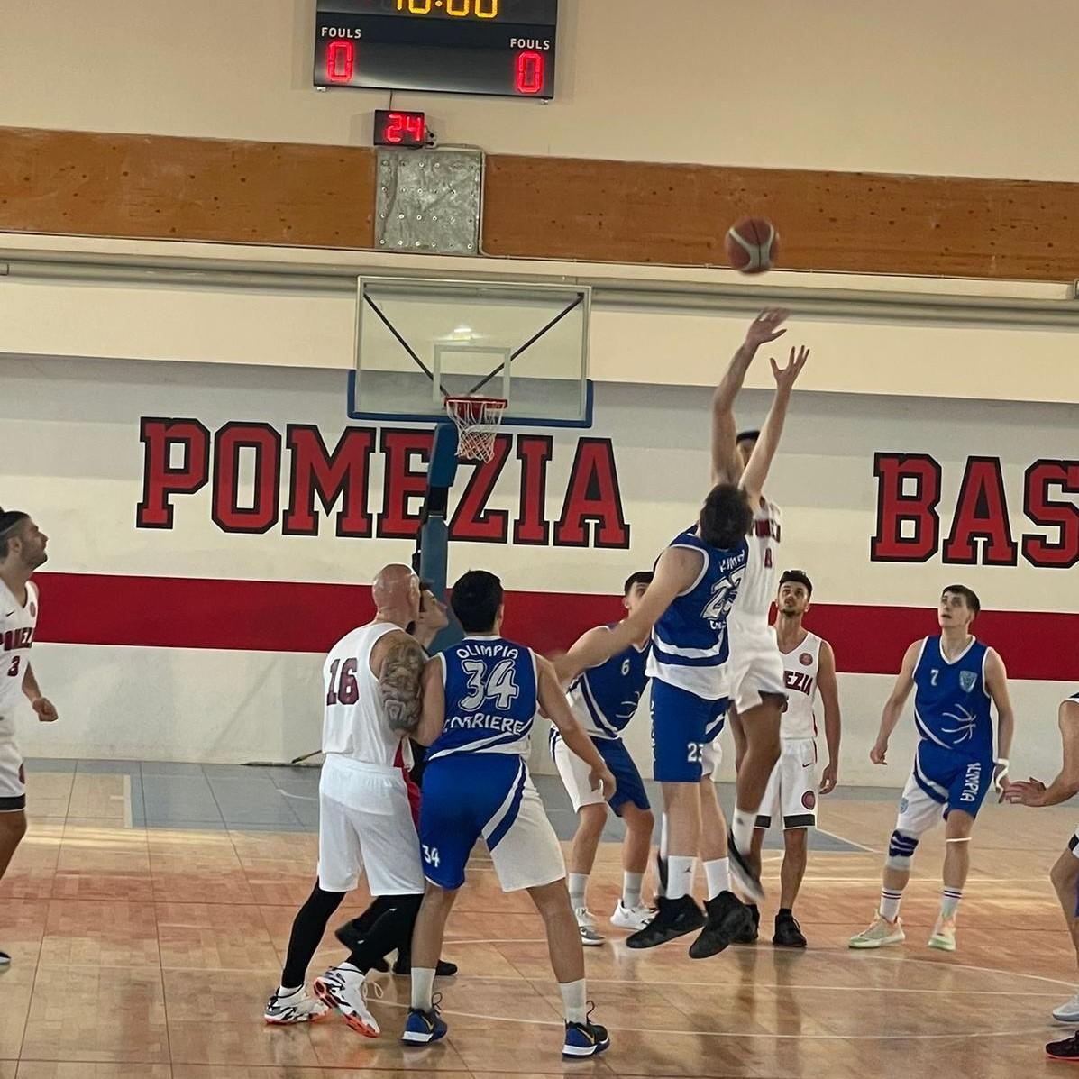Serie D  Virtus Pomezia - Olimpia Roma  97-45 1