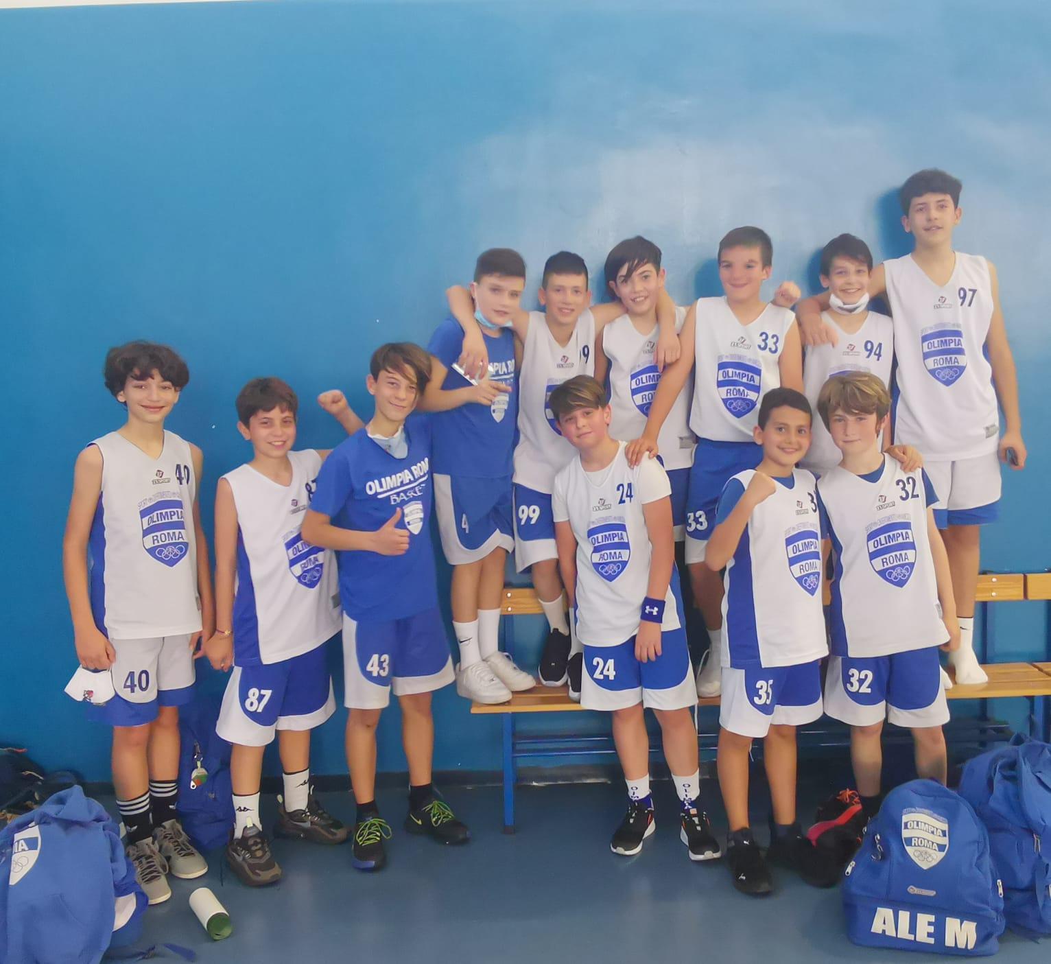 U13 Olimpia Roma - Club Frascati Bk  63-46 1