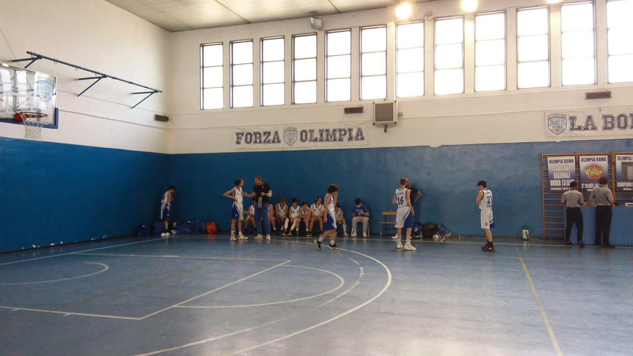 U14  Olimpia Roma - Liceum Bk  54 - 73 1