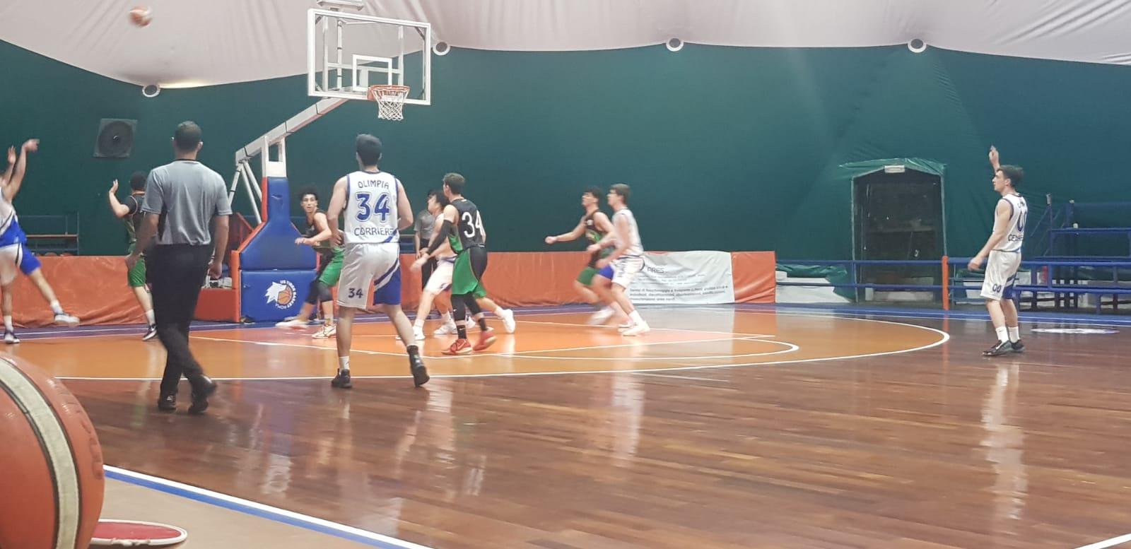 U18 E  Olimpia Roma - Pallacanestro Palestrina   66 - 55 1