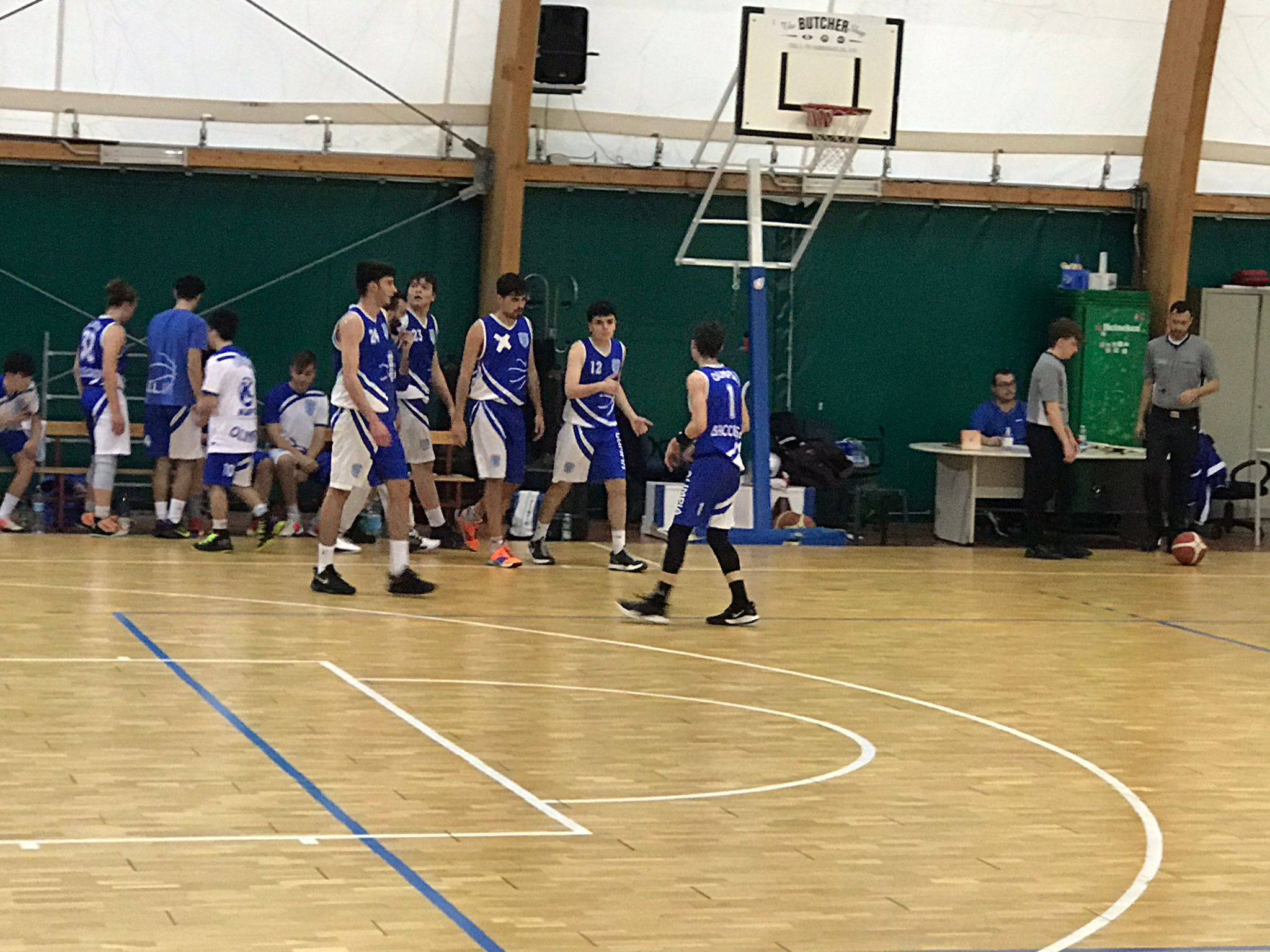 U20 G  Scuola Bk Roma - Olimpia Roma  78 - 80 1