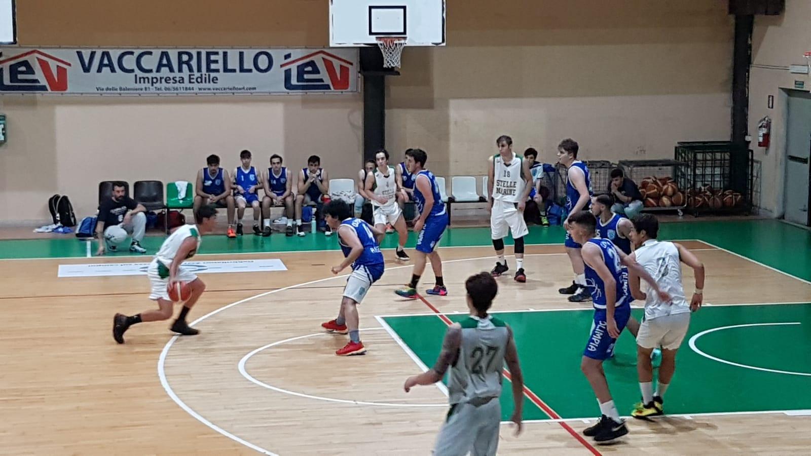 U20 G Stelle Marine - Olimpia Roma  79 - 90 1