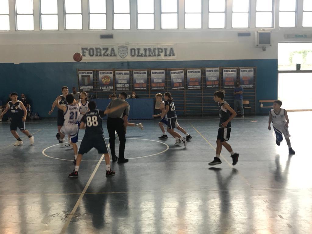 U14 Olimpia Roma - Peter Pan  114 - 44 1
