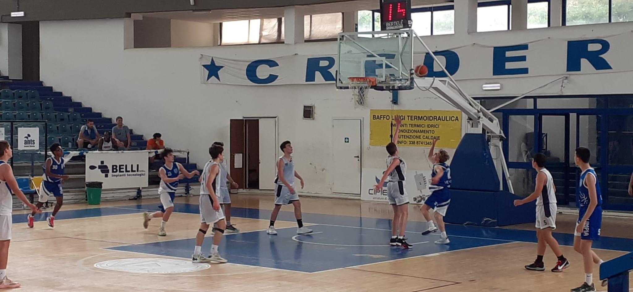 U16 E  Stella Azzurra Viterbo - Olimpia Roma  60 - 59 1