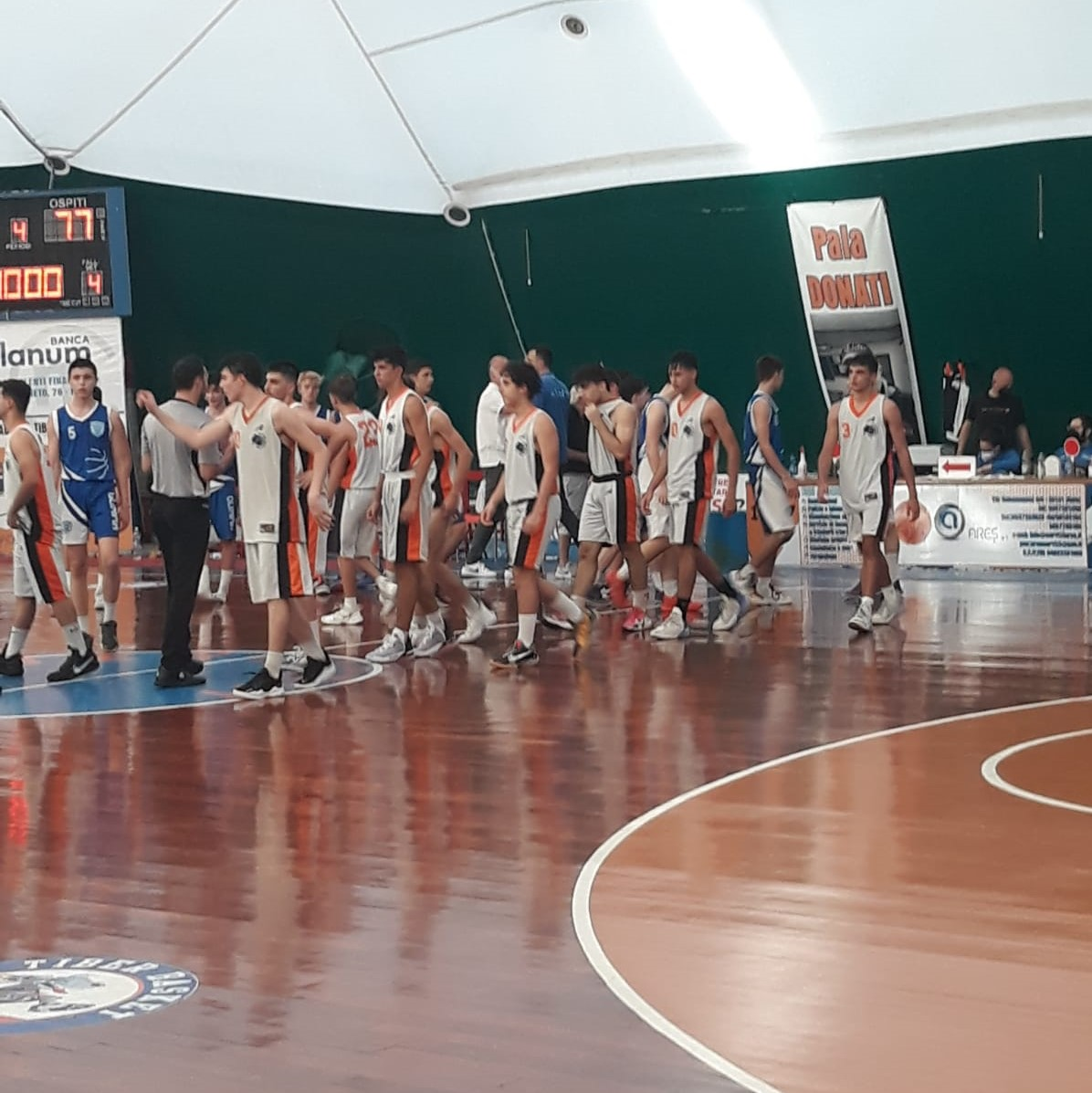 U16E U.S. Tiber Bk - Olimpia Roma  64 - 77 1
