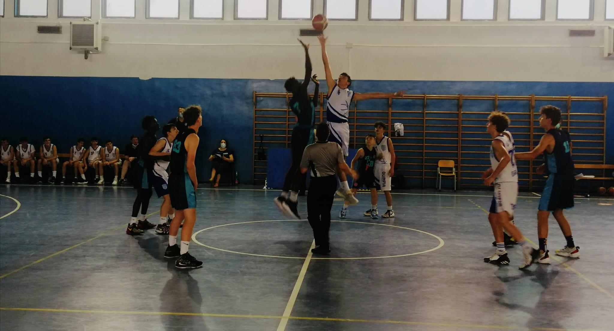 U15E Olimpia Roma-Club Bk Frascati  76 - 77 1