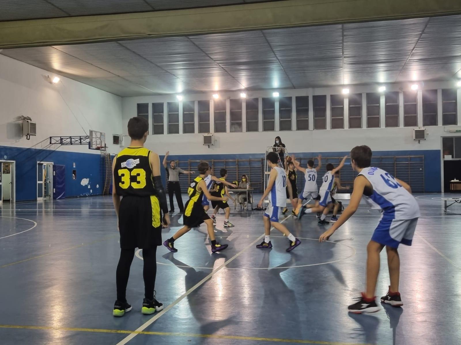 U13 E  Olimpia Roma - Hsc  62 - 46 1