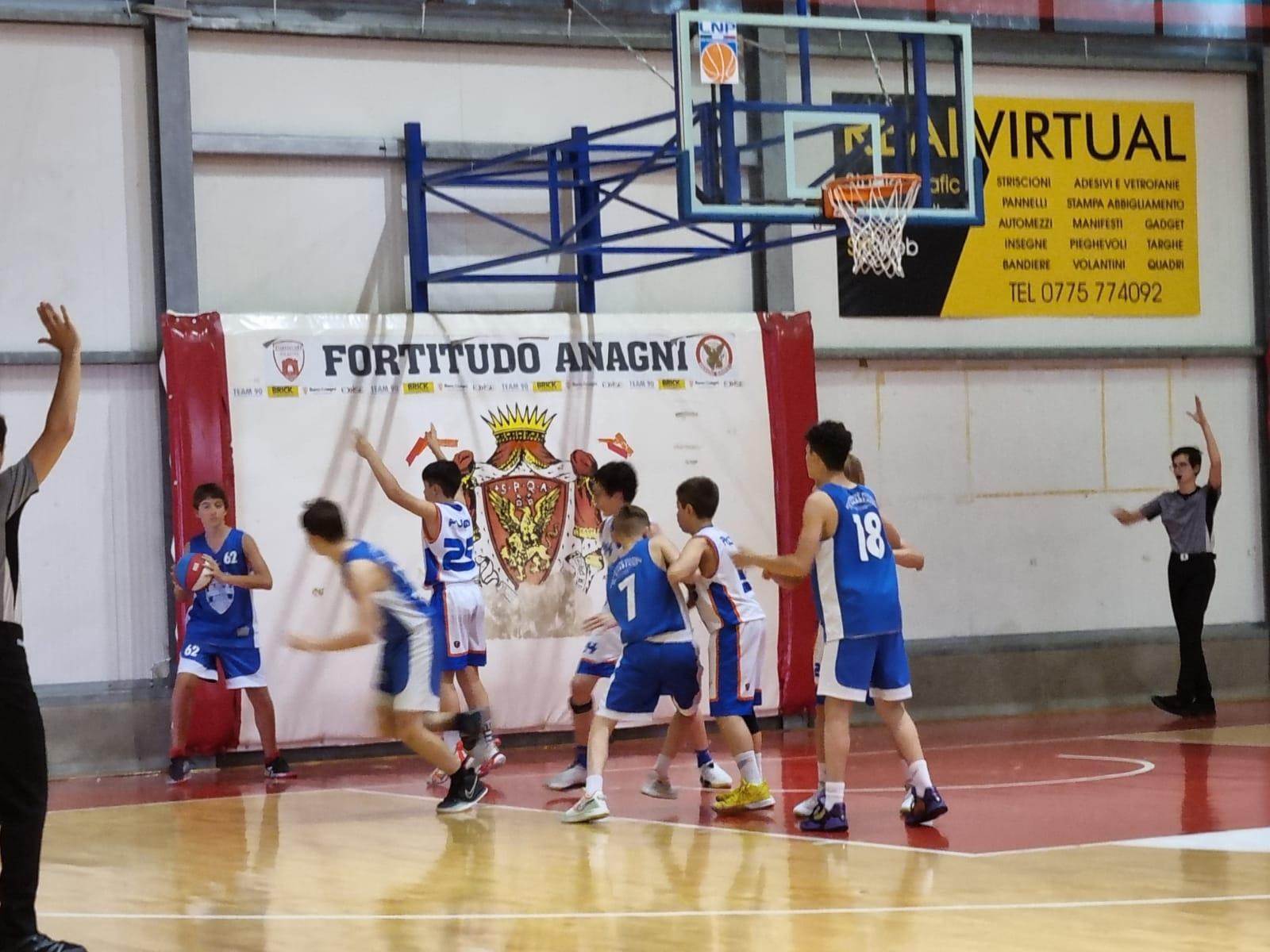 U13E  DBS - Olimpia Roma  64 - 46 1